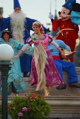 Rapunzel (ThatDisneyLover) Tags: show paris princess disneyland prince disney resort rapunzel tangled 2011 july2011 flynnrider mickeysmagicalcelebration lacélébrationmagiquedemickey rapoince eugenefizherbert