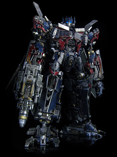 dark of the moon ultimate optimus prime gun 6 a photo on