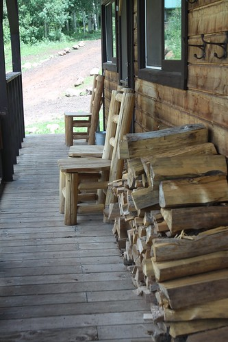 Cabin Porch, Black Mountain Ranch