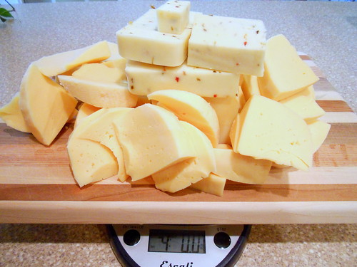 4 pounds of cheese