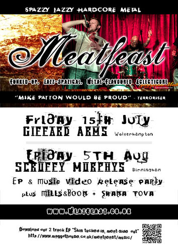 Meatfeast EP & Music Video Release Party!
