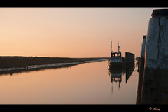 Soft light (Just me, Aline) Tags: light sunset haven holland netherlands licht zonsondergang harbour nederland groningen npz noordpolderzijl
