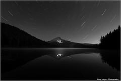 Star trails at Trillium Lake (Gary_meyers) Tags: mthood startrails trilliumlake oregom canon7d