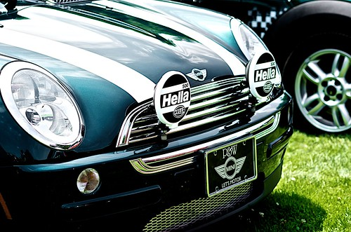 MINI in green.