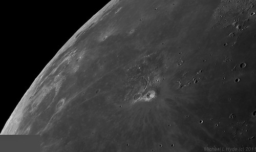Aristarchus crater,  Aristarchus plateau, Schröter's Valley et al. 240711 by Mick Hyde