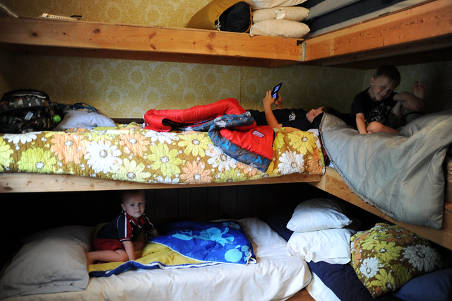 Bunkbeds at the cabin