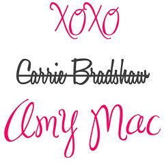 amy mac carrie bradshaw