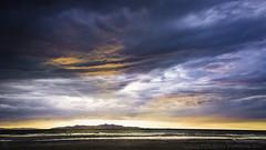 """Beach Day"" - 205/365 (Nelson Vargas Photo) Tags: sunset sky beach clouds landscape utah cloudy stormy saltlakecity greatsaltlake sigma24mmf18 nikond700"