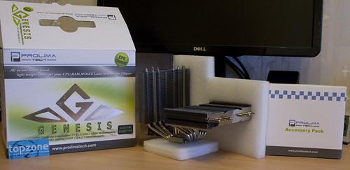 Prolimatech Genesis: CPU aušintuvas ir ne tik...