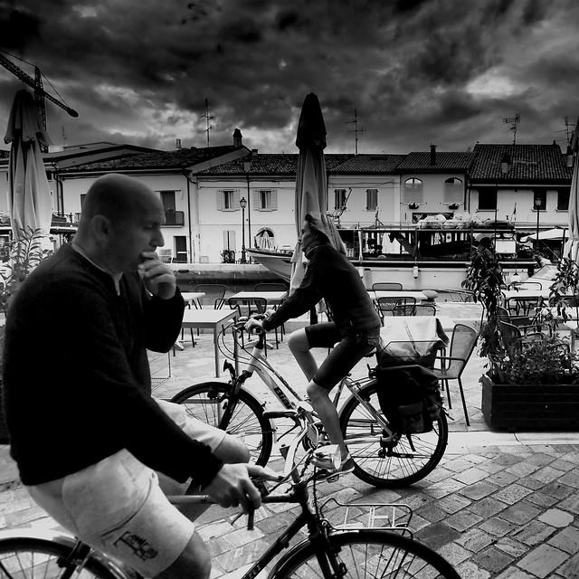 Les rencontres sur les vélos