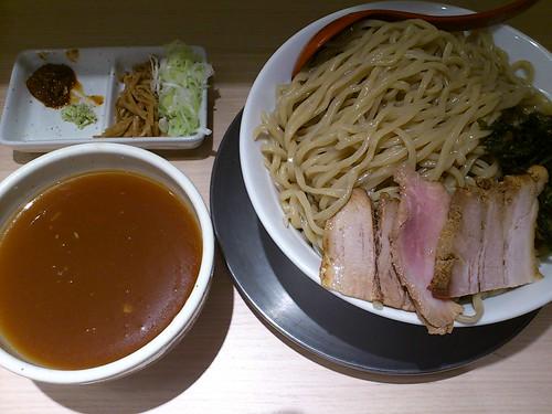 ra201107七彩 東京ラーメンストリート 醤油もろみ中華ざる