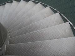 down (Le fabuleux destin d'Amlie Poulain) Tags: stairs stair treppe escalera heimat escaleras stairwaytoheaven tagebau treppen glckauf wendeltreppe sachsenanhalt bitterfeld goitzsche doppelhelix pegelturm heimatisteingefhl astairwaytoheaven goitzschesee