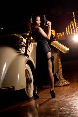 [フリー画像] 人物, 女性, アジア女性, コスプレ, トゥームレイダー, ララ・クロフト, 201107312300