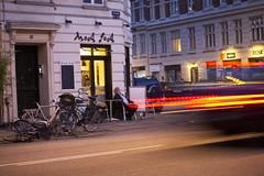 Istedgade Light (Mikael Colville-Andersen) Tags: street blur bike bicycle night copenhagen cycling candid streetphotography bici kopenhagen fahrrad vélo københavn cykel istedgade copenhague köpenhamn copenhagenstreetphotography