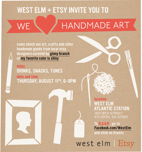 West Elm + Etsy - We Heart Handmade Art