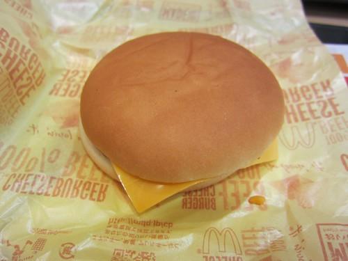 マクドナルド チーズバーガー