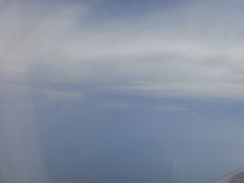 Gulf of Mexico, via airplane