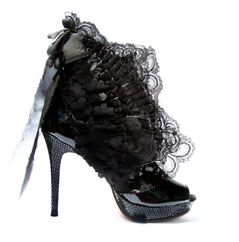 Zack Lo high heels in lace 2