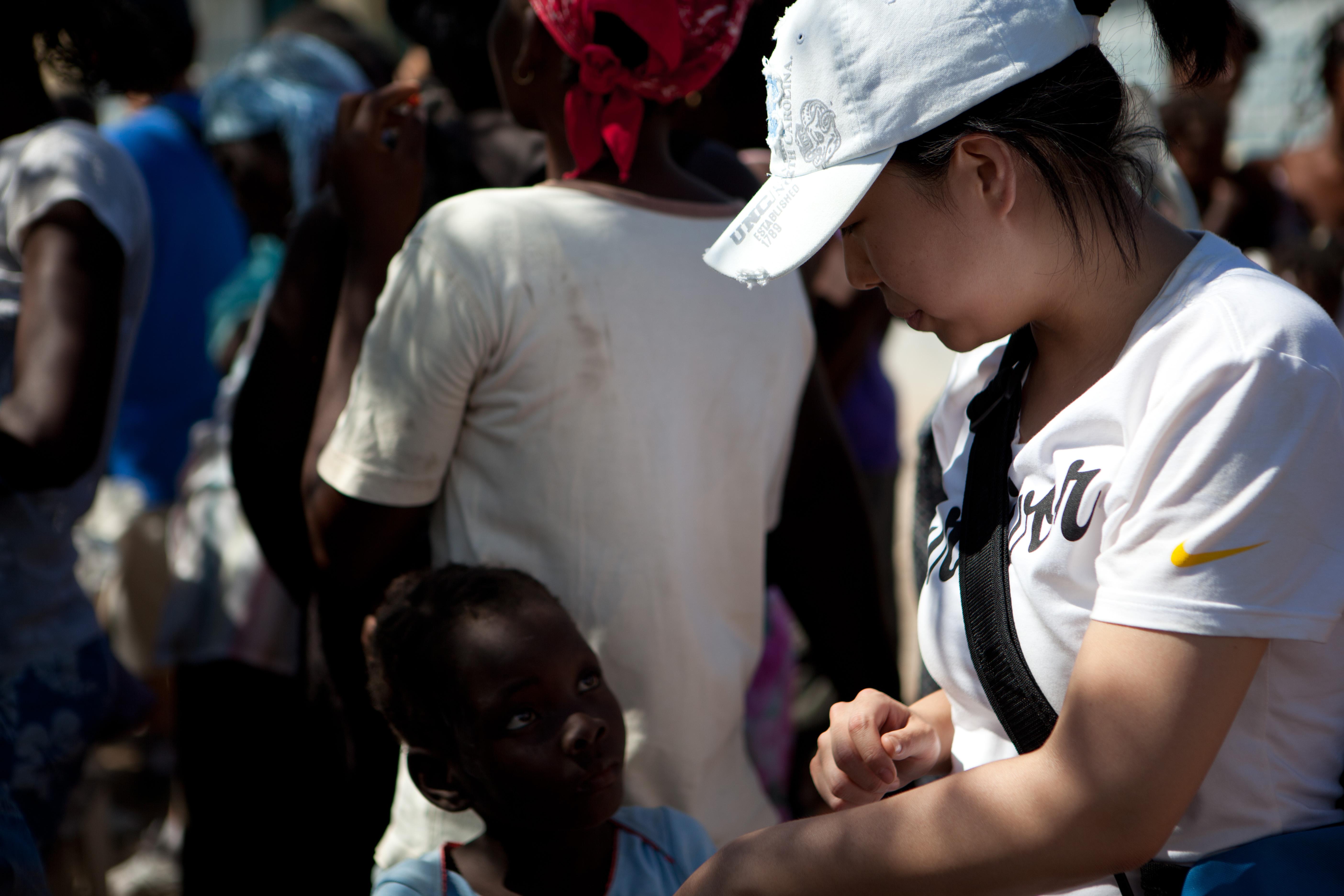 2011 아이티단기선교 어린이사역 (16)