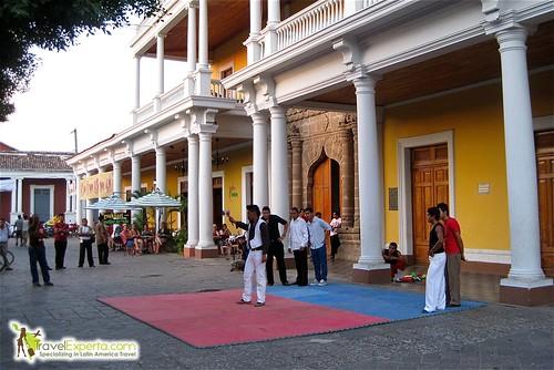 Granada Nicaragua Central Park Street Performers
