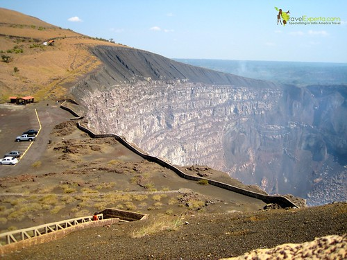 Masaya Volcano National Park Nicaragua Family Nature Adventure View of Volcano