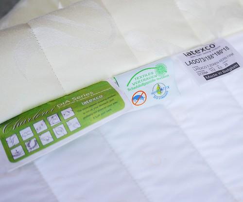 床墊秋刀魚回收到比利時latexco18cm床墊