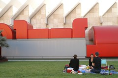 Saturday: picnic dinner @ LACMA