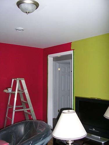 Repainting my living room