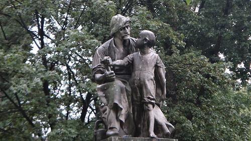 Handwerker mit Sohn