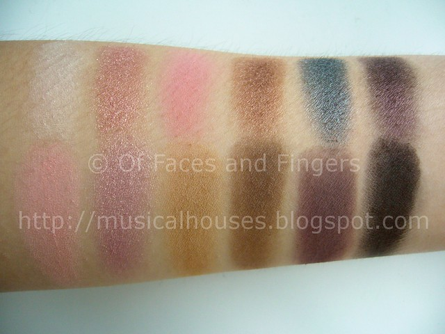sleek oh so special palette swatches