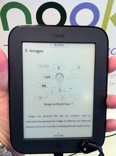 B&N Nook Simple Touch eReader by Wesley Fryer, on Flickr