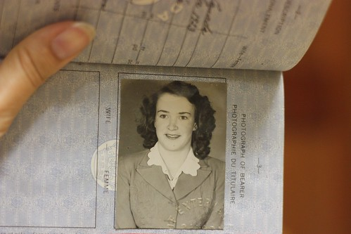 my grandmother's passport, WWII by o&poecormier