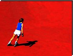 I-pod (meghimeg) Tags: shadow red music sun rot ombra explore musica roller sole rosso lavagna pattini 2011 auricolari pattinatrice earpad
