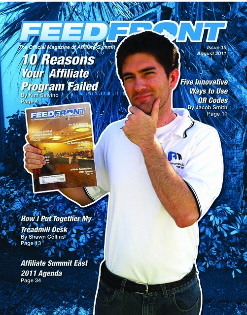 FeedFront Magazine, issue 15 cover