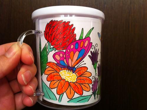 Butterfly Design-A-Mug