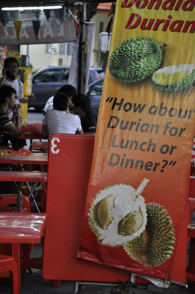 Durian for Lunch or Dinner 榴莲午餐或晚餐 ...