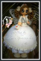 Fada Clara (Artes di Viviane Garcia) Tags: baby mobile doll bonecas dolls biscuit infantil bebe beb nenm boneca menina decorao nenem fada faries mbile fadas enfermeira decoraoinfantil quartoinfantil portamaternidade elo7 vivianegarcia