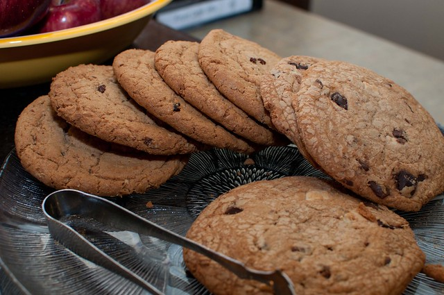 Afternoon cookies in lobby