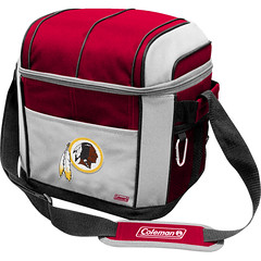 Washington Redskins Coleman 24 Pack/Can Cooler Bag