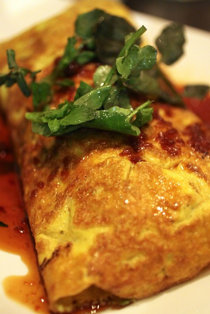 Soft Shell Crab Omelette