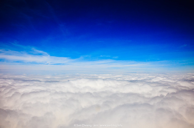 澎湖飛機上
