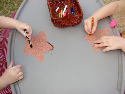 Sandpaper Stars Pic 1