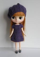 Mimi in Purple