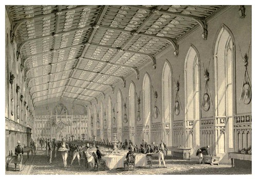 003- Interior de San George's Hall-Windsor Castl and its environs 1848- Ritchie Leitch