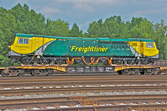Freightliner #70012/QTTX # 131294 (THE RESTLESS RAILFAN) Tags: