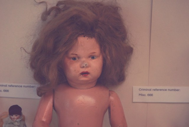 V&A Museum of Childhood: crime toys