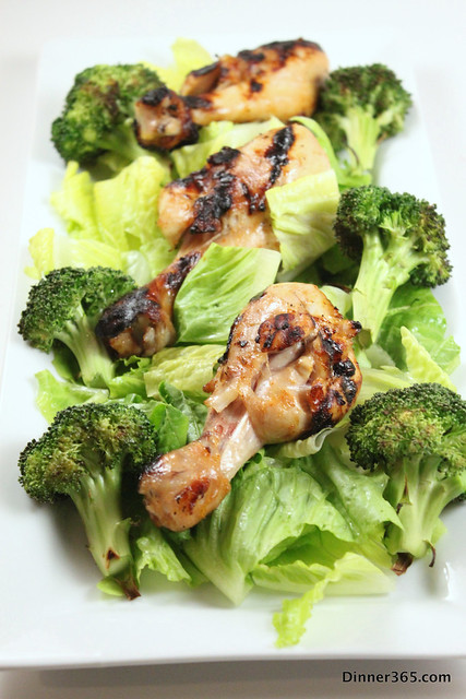 Day 216 - Grilled Chipotle Chicken and Broccoli