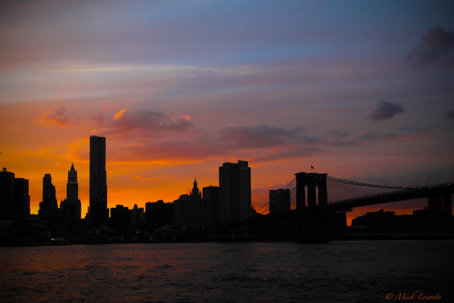 Sunset and Silhouette NYC