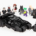 LEGO BATMAN DARK KNIGHT. TUMBLER & BATPOD.