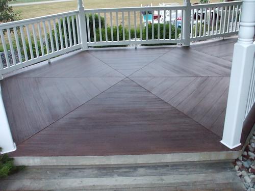 Concrete Wood Gazebo